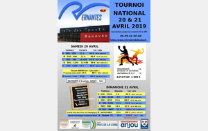 TOURNOI NATIONAL 2019