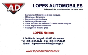 AD garage Lopes automobiles